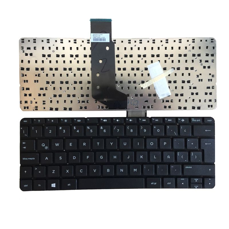 New Laptop Keyboard for HP Pavilion x360 Home 11-N 11-N000 11-n001xx 11-n010dx 11-n011dx 11-n000nf 11-n010nf