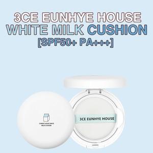 Image 5 - 3CE Eunhye House White Milk Cushion Face Skin Air Cushion BB Cream Makeup Set Foundation Moisturizing Sun protection Concealer