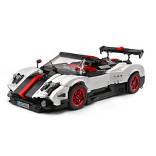 Building Blocks For MOC-22208 Sports Car Series Pagani Zonda Cinque Roadster Technic Diy Toy Boys Bricks Toys Christmas Gifts(China)