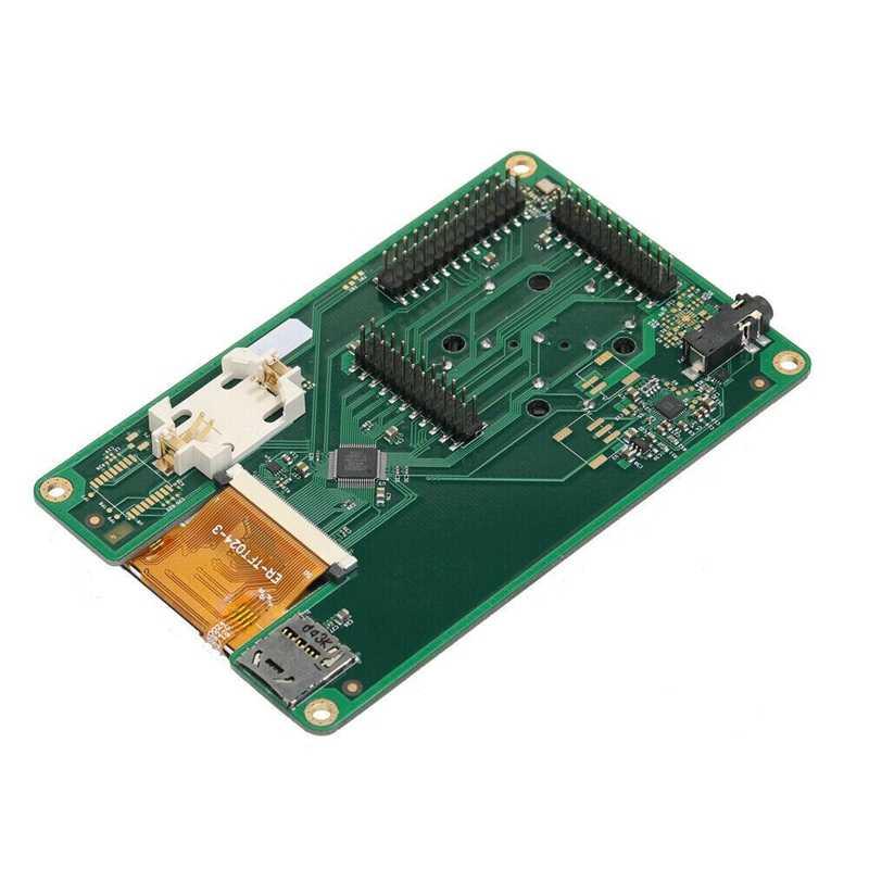 חם 3C-1MHz-6GHz 2.4 אינץ מגע LCD פנל Portapack עבור HackRF אחד SDR רדיו מוגדר תוכנה