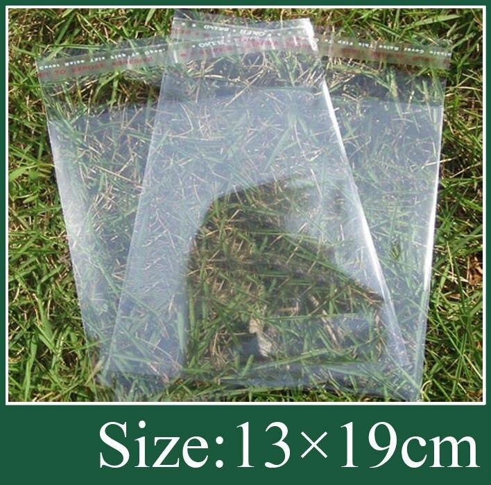 opp bag /poly bag free shipping 13x19cm 500pcs/lot