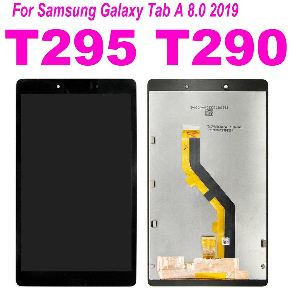 8 pulgadas para Samsung Tab A 8,0 2019 SM-T290 SM-T295 T290 T295 LCD pantalla táctil digitalizador Panel de cristal montaje con marco