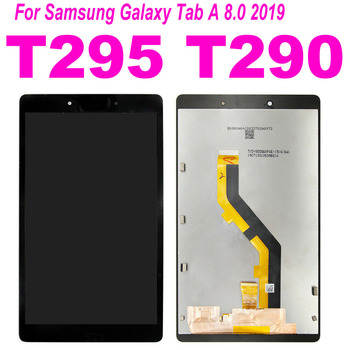 8 inch For Samsung Tab A 8.0 2019 SM-T290 SM-T295 T290 T295 LCD Display Touch Screen Digitizer Glass Panel Assembly with Frame for samsung galaxy tab 4 7 0 sm t230 t230 full lcd display panel black touch screen digitizer glass assembly replacement