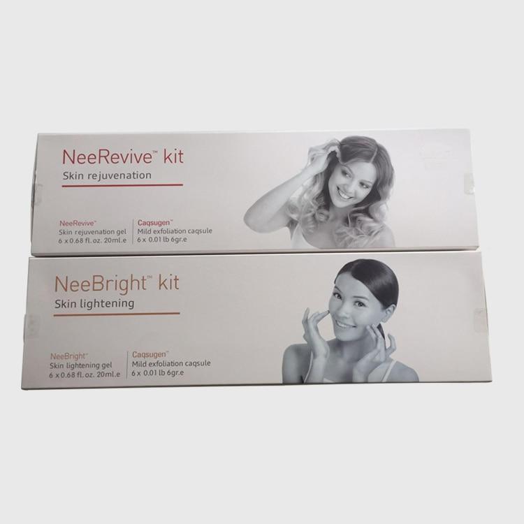 2020 Nee Bright Kit (Skin Lightening)+Nee Revive Kit (Skin Rejuvenation) Exfoliation Consumable For Oxygen Machine