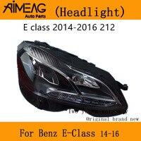 05 19 벤츠 e 클래스 헤드 램프 어셈블리 제작 원래 공장 260l 300 200 180 320 a211 212 헤드 라이트|램프 후드|   -