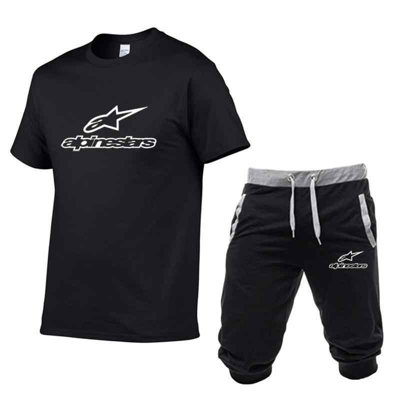 2020 Zomer Hot Nieuwe Mannen Trainingspak Kleding Set Van Fitness Sport 3D Print Shorts + Shorts Sets Strand Heren casual Tee Shirts Set
