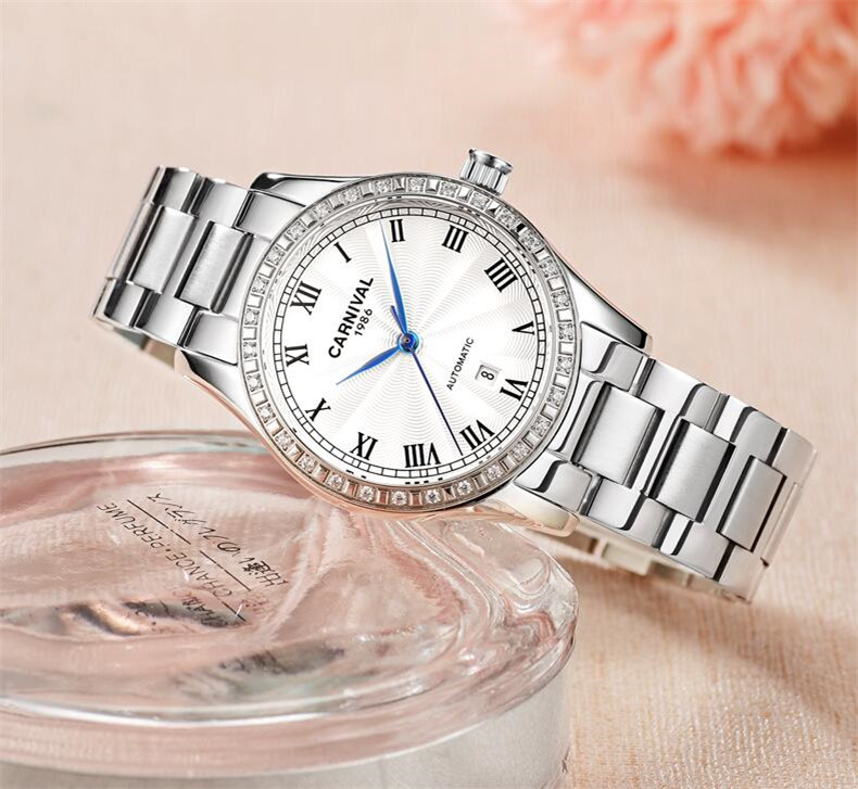 Watch Women Watches Ladies Creative Steel Bracelet Watches Female Automatic Mechanical Clock Relogio Feminino Montre Femme