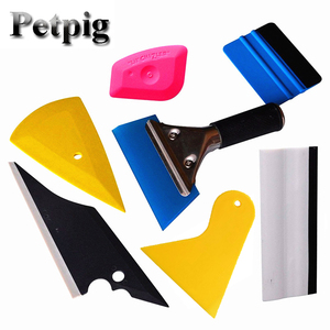 7Pcs Window Tint Tools Kit Car Repair Tool 3M Squeegee Scraper Car Foils Solar Sunshade Tools Kit Car Film Wrap Auto Hand Tool(China)