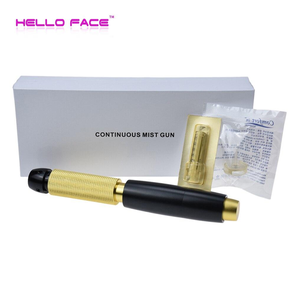 0.5ml stylo d'injection hyaluronique haute pression continue méso hyaluronique acide pistolet injecteur eau atomiseur cadeau de beauté pour amoureux