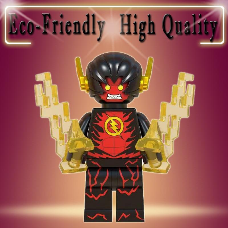 Legoed DC Super Heroes Reverse Flash Daniel West New 52 Flash First Generation Building Blocks Bricks Kids Gifts Toys WM504