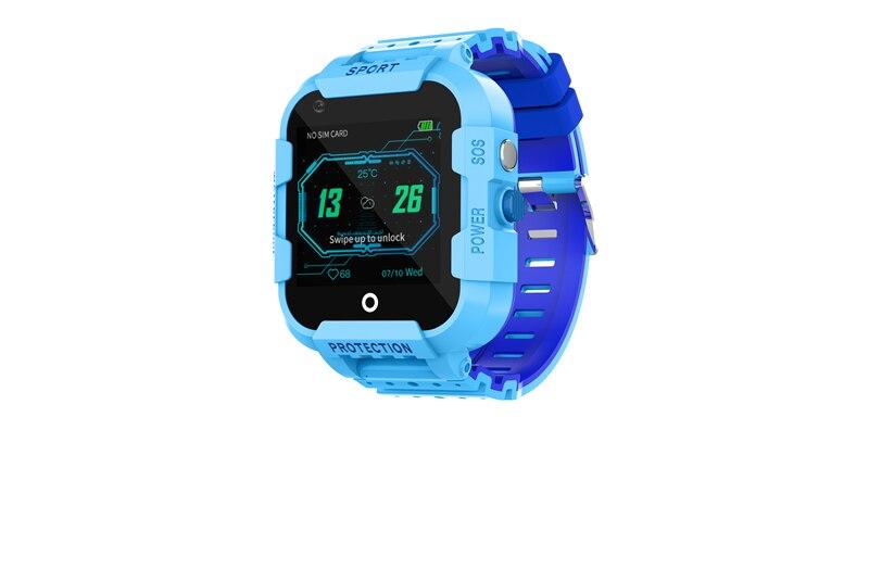 Df39 relógio inteligente crianças 4g gps tracker