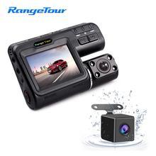 """Автомобильный видеорегистратор с двумя объективами, видеорегистратор i1000s 2 """"LCD G Sensor, детектор движения 1080P"""