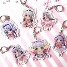 Porte-clés Anime mignon Kobayashi San Chi No Maid Dragon, 1 pièce, jouets avec pendentif Elma pour demoiselle d'honneur