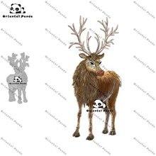 New Dies 2020 Christmas deer Metal Cutting Dies diy Dies photo album  cutting dies Scrapbooking Stencil  christmas dies die cut diy christmas snowman pattern cutting die
