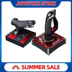 PXN-2119II palanca para vuelo Joystick USB de simulador de vuelo controlador Joystick Gamepad controlador de juegos vibración-Dual para PC