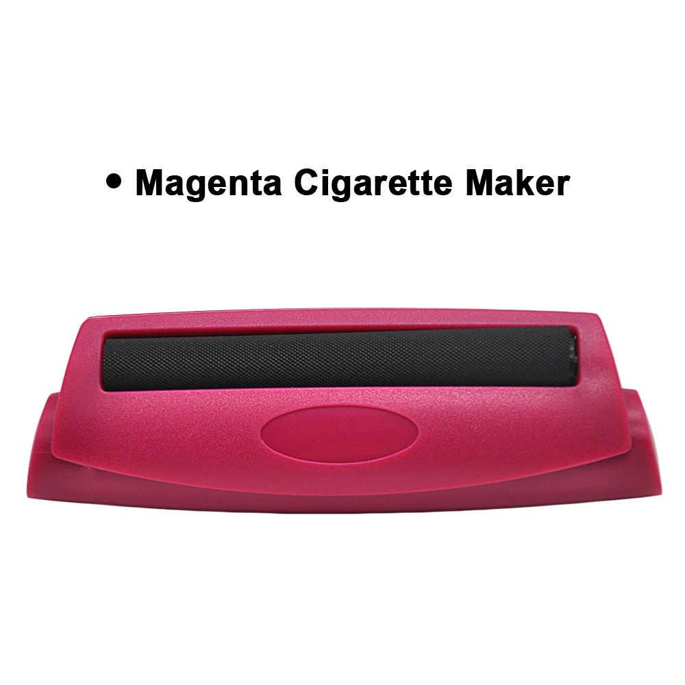 Diamètre en plastique de Machine de Cigarette de rouleau de tabac 78mm Cigarette roulante manuelle Cigarette en plastique de quatre couleurs