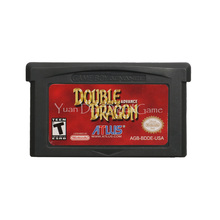 For Nintendo GBA Video Game Cartridge Console Card Double Dragon Advance English Language US Version