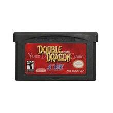 Для Nintendo GBA видеоигры картридж консоль карта двойной дракон Advance английский язык версия США
