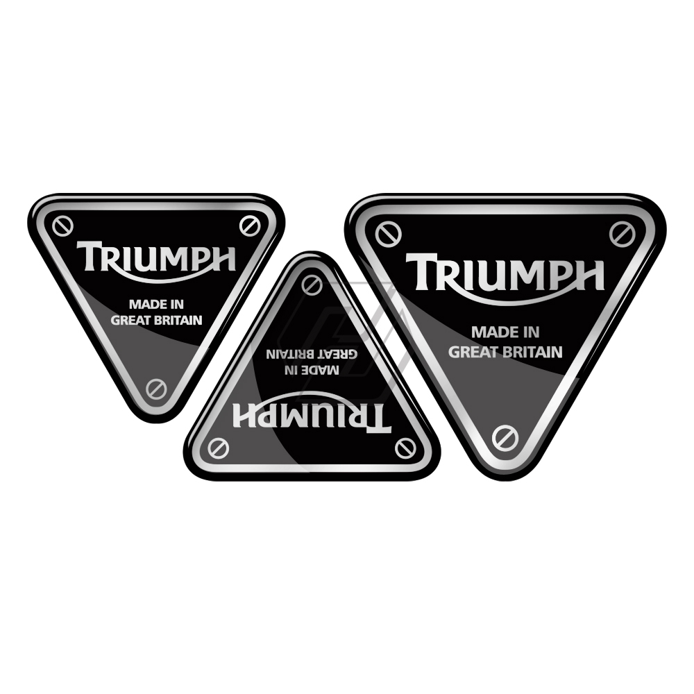 3D Resin Motorcycle Sticker Case For Triumph Tiger 800 Daytona 675 675R Etc