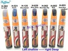 Removedor de carro reparação de arranhões caneta de pintura azul série-h125 azul havaí pro reparação ferramenta clara ponta com escova