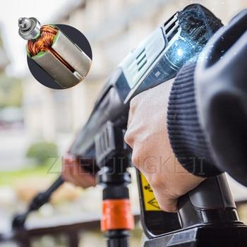 High Pressure Washer Wireless High-pressure Washing Machine Portable Car Equipment Handheld Water Gun Cleaning Tools