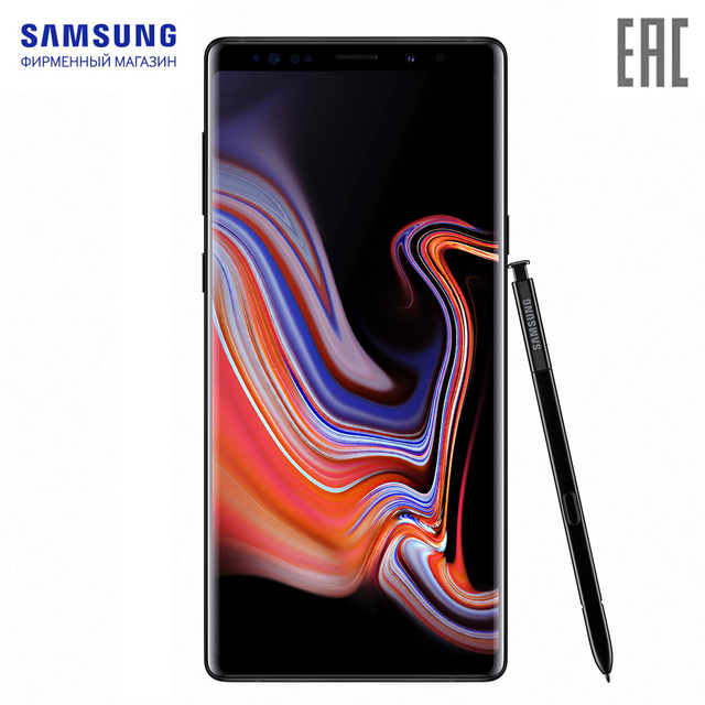 Смартфон Samsung Galaxy Note 9 Черный 512гб