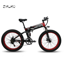New Electric bicycle 350W Electric Beach Bike 4.0 Fat Tire Electric Bike 48V500W Mens Mountain Bikes Snow E-bike 26inch Bicycle 2018 hot selling 48v 1500w snow fat e bike electric mountain bike electric bike electric bicycle