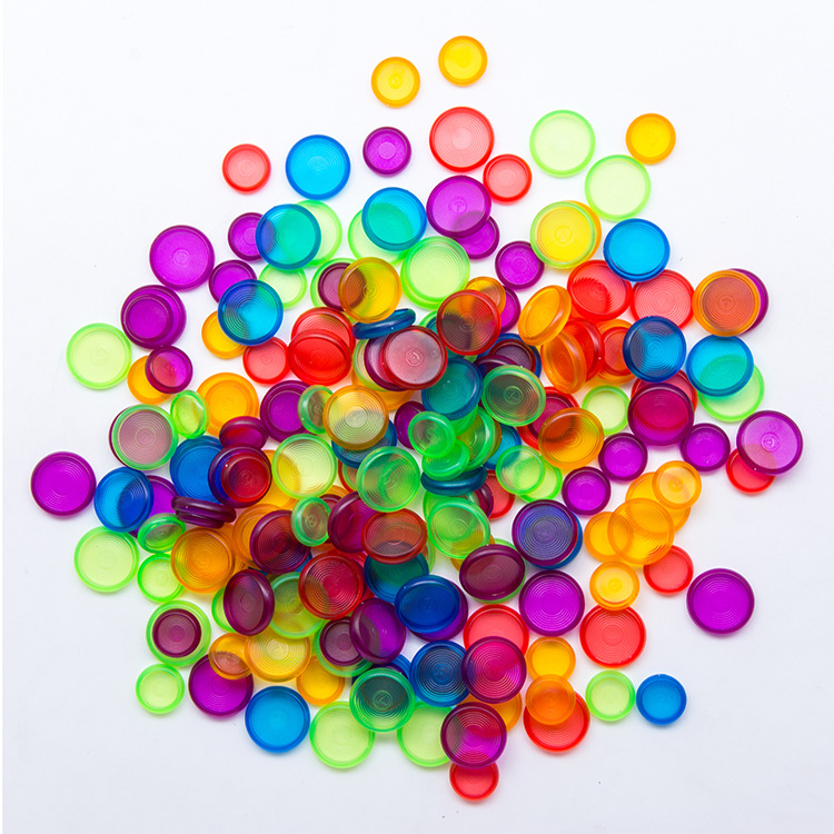 28mm Color Mushroom Hole Plastic Ring Discs Removable Loose-leaf Notebook DIY Hand Book Accessories Ring Notebook Disc