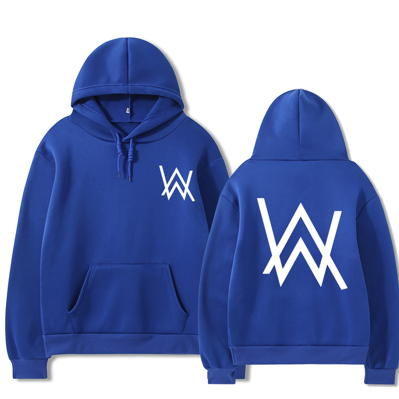 2021 Fall/Winter Alan Walker Hoodie Couple Loose Large Size Wild Casual Men and Women Pullover 9