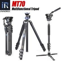 INNOREL MT70 treppiede per fotocamera professionale portatile monopiede supporto fotografico testa Video opzionale e treppiede da tavolo