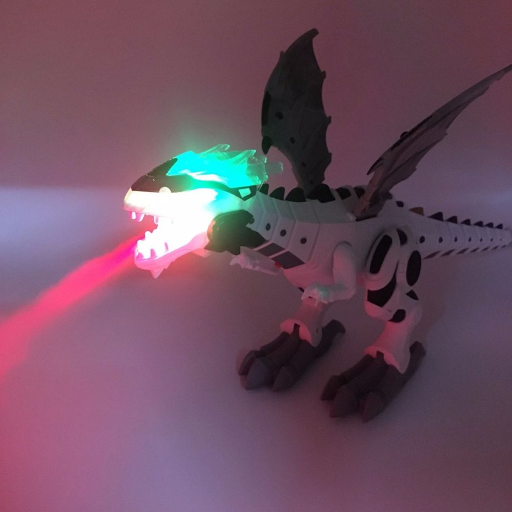 Electric Spray Dinosaur Toy Sound And Light Fire-Breathing Mechanical Dragons Dinosaur Model Toys Kids Toys
