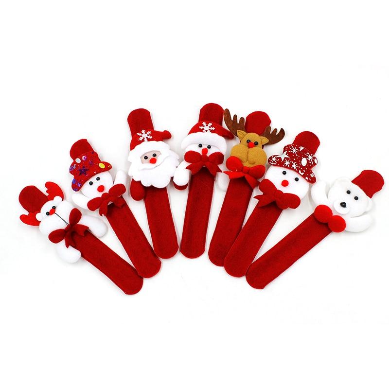 1PCS-Christmas-Decorations-Christmas-Patting-Circle-Christmas-Children-Gift-Santa-Claus-Snowman-Deer-New-Year-Party (1)