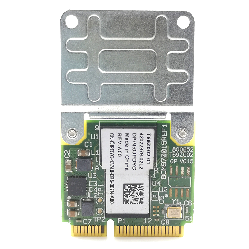 Broadcom BCM970015 BCM70015 HD Crystal Hardware Video Decoder Mini PCI-E Adapter 1080p AW-VD920H WIFI Card for 1th TV/Notebook(China)