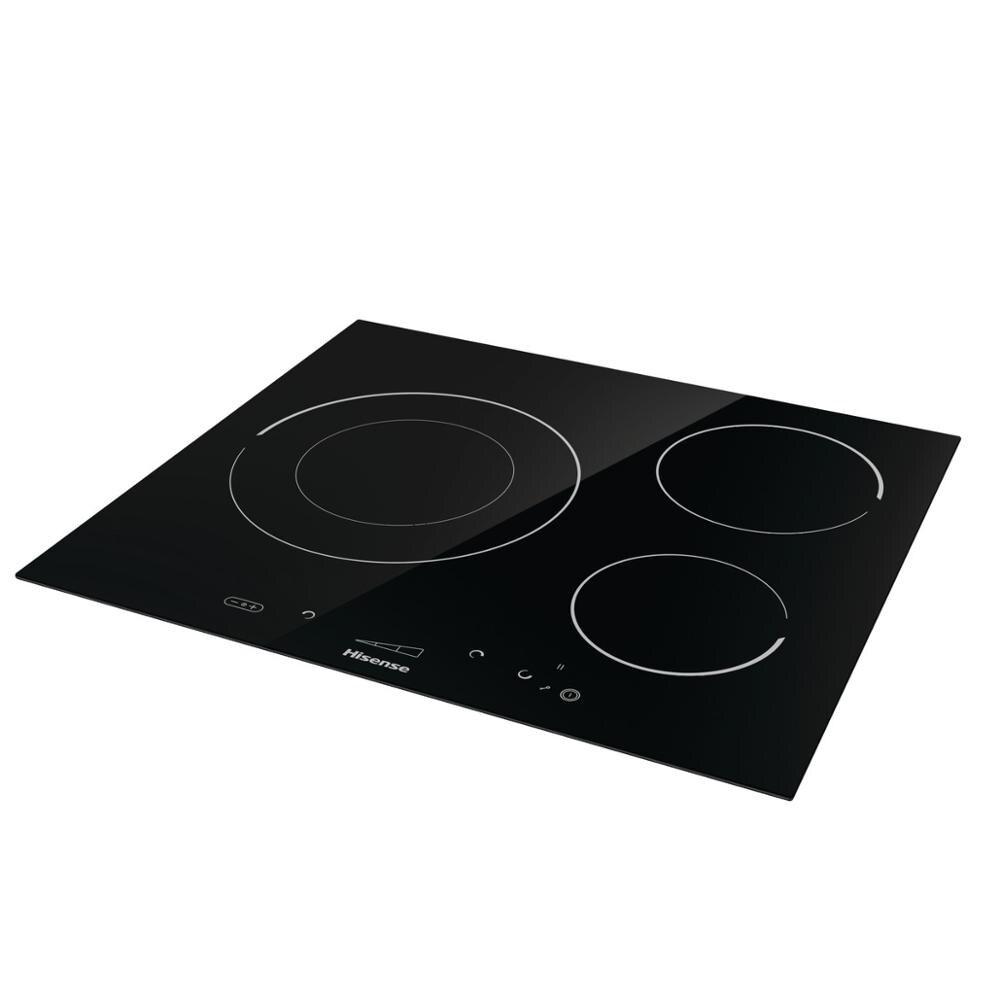 Hisense I6341C cuisinière à induction, 7200W, SliderTouch, 59,5 × 5,8 × 52 cm, 3 brûleurs, serrure de sécurité - 4