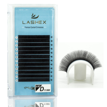 LASHEX Handmade Faux Mink Eyelashes Extensions C CC D DD Curl Individual Eyelash Russian Volume Lashes Extension Supplies