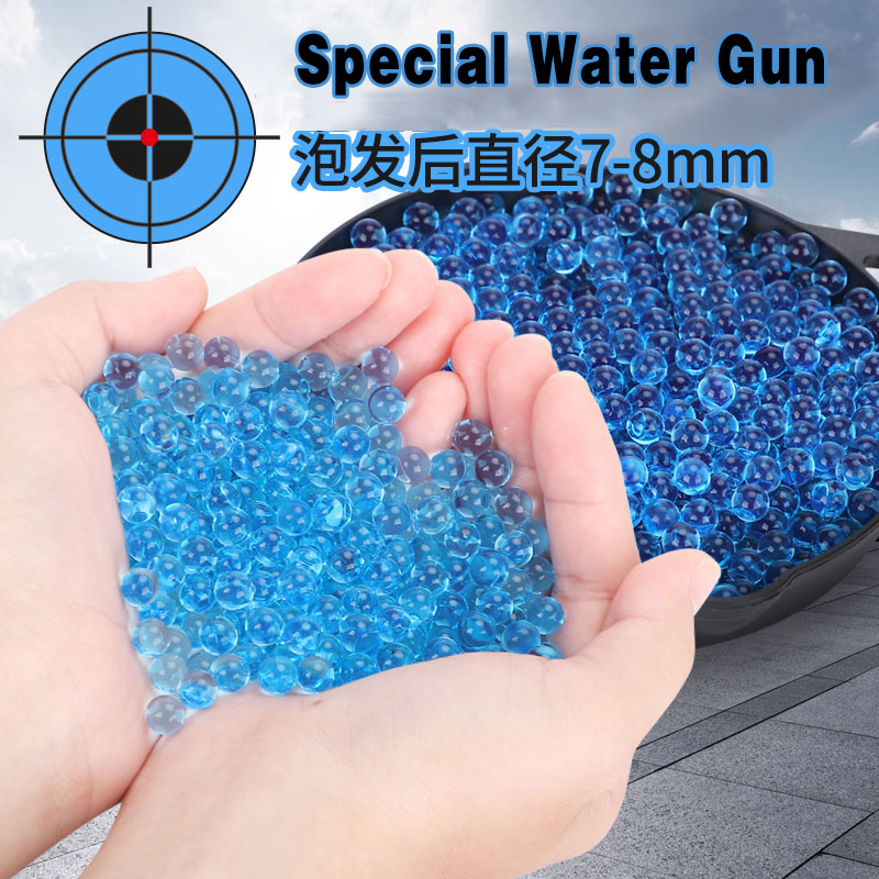 10000pcs Crystal Soil Hydrogel Gel Polymer Water Beads Flower/Wedding/Decoration Polymer Growing Water Balls Big Home Decor