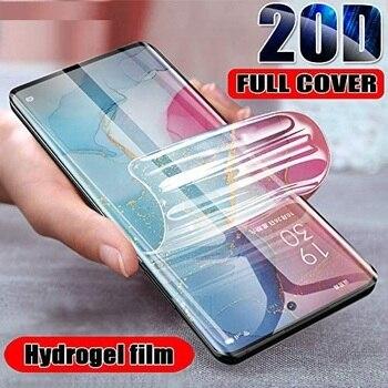 Перейти на Алиэкспресс и купить Прозрачная защитная Гидрогелевая пленка для LG V60 V 60 ThinQ защитная пленка не закаленное стекло