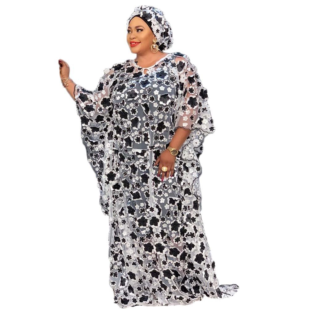 African Dress For Women Kaftan Bubu Dress Dashiki Women's Clothing Maxi Big Plus Size