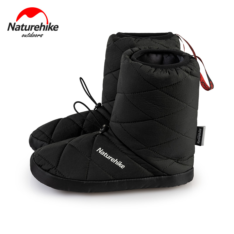 Naturehike Outdoor Camp Shoes 3M Cotton Shoes Keep Warm 5℃~-5℃ Snowfield Shoes High Tube Skiing Windproof Waterproof Travel Shoe