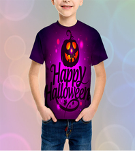 LBG new disfraz halloween bebe, 3D printing Halloween Kids T-shirt Fashion childrens short sleeve Harajuku