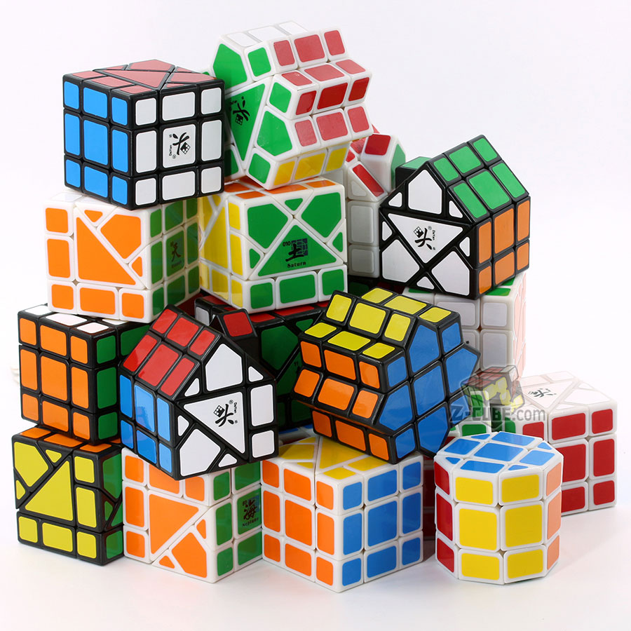 Magic Cube Puzzle Dayan Bermuda 3x3x3 Puzzle Special Strange Shape Cube Educational Twist Wisdom Toy Game Cube Master Collection