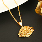 Gold Color Islam All...