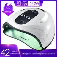 Upgrade SUN X5 Plus lampa UV lampa UV do paznokci 80W suszarka do paznokci światło słoneczne do żel do manicure paznokcie lampa suszenie do żelu lakier do paznokci Art. No.