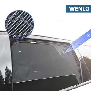 4 шт. Магнитная Автомобильная боковая шторка на окно, сетчатая шторка для Hyundai IX25 IX35 IX45 I30 I40 Elantra Verna Tucson Sonata Santafe