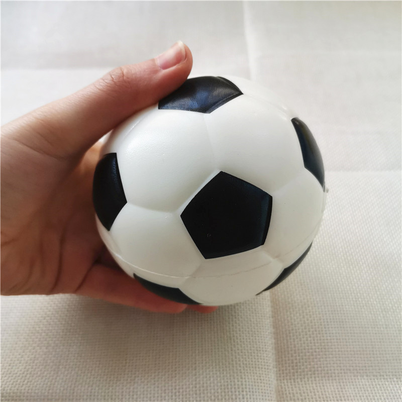 10cm Baby Soft Foam Toy Footballs Anti Stress Squeeze Balls PU Sponge Outdoor Sports Games Toys For Kids Children