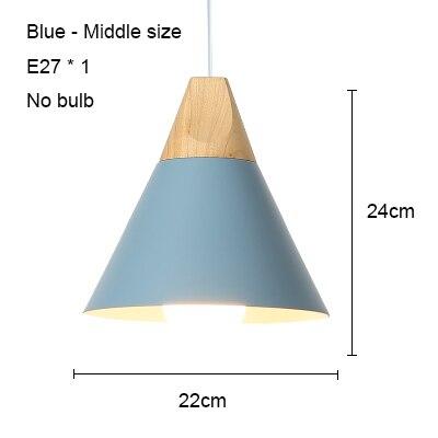 Blue 220mm no bulb