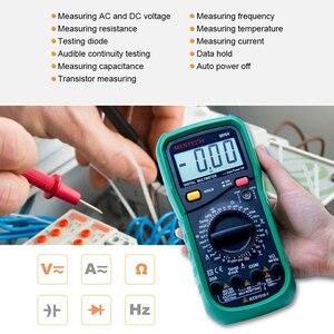Image 4 - MASTECH MY64 디지털 멀티 미터 커패시턴스 온도 측정기 hFE 테스터 (AC/DC 전압 포함) 전류 저항 커패시턴스 테스트