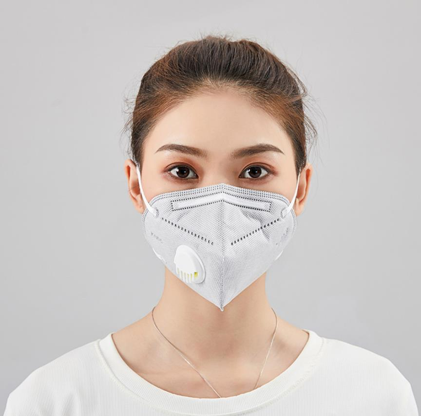 Face Mask Mouth Masks Anti Dust Pollution Filter PM2.5 Protective Hygiene Respirator With Valve Dropshipping