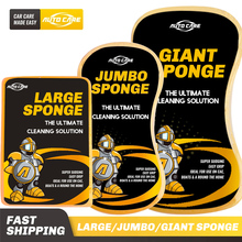 Car Wash Sponge 3 Sizes Large Jumbo Giant for Choice Easy Grip To Wash Car Automobile Bicycle Motorcycle Boat And Home cheap AUTO CARE RU(Origin) 27cm Foam Sponges Cloths Brushes Super Sudsing 15cm