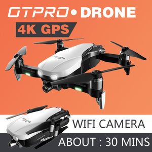 Image 1 - 4K мини Дроны с камерой Квадрокоптер Профессиональный GPS Дрон FPV Радиоуправляемый Дрон Складные Игрушки с дистанционным управлением подарок